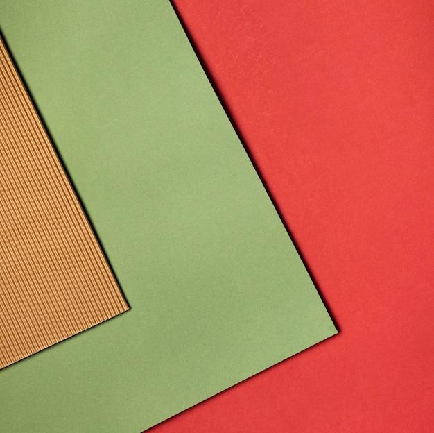 Pila di carte colorate di close-up Foto Gratuite
