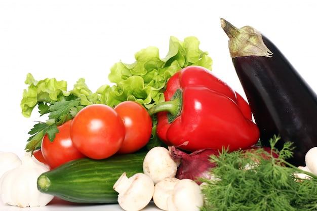 Pile of fresh vegetables Free Photo