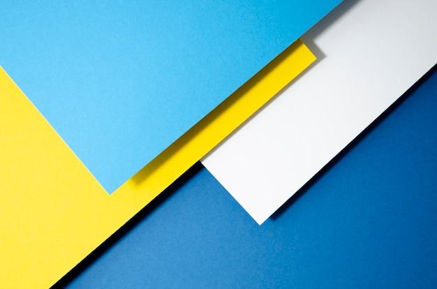Pile of geometric shapes background Free Photo
