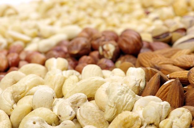 Pile of nuts Premium Photo