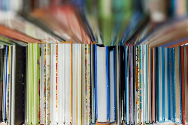 Pile of colorful books Photo | Free Download