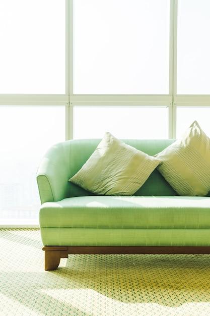 Pillow on sofa Free Photo