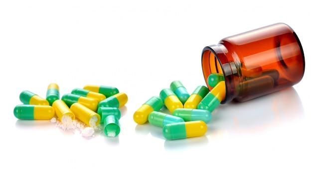 Pills capsule Premium Photo