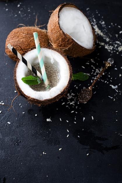 Pina colada drink Premium Photo