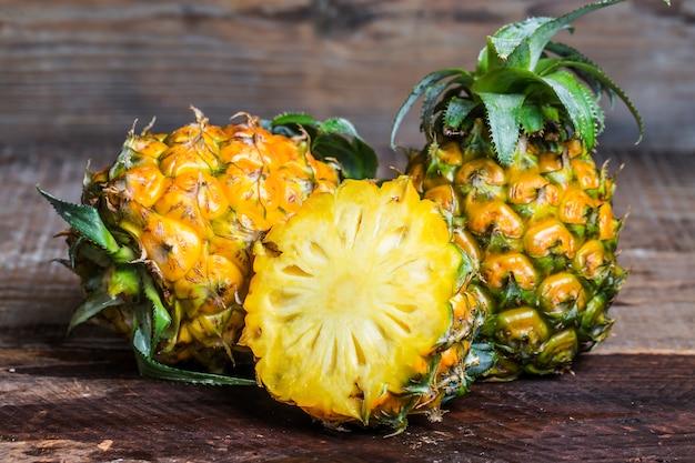 Pineapple smoothie Free Photo