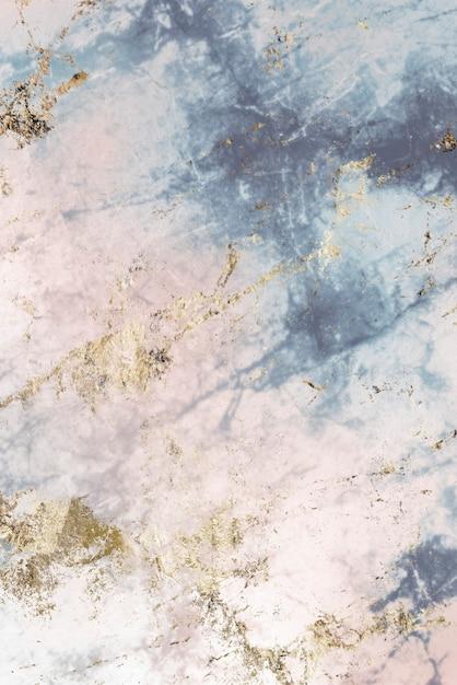 핑크와 블루 대리석 질감 무료 사진