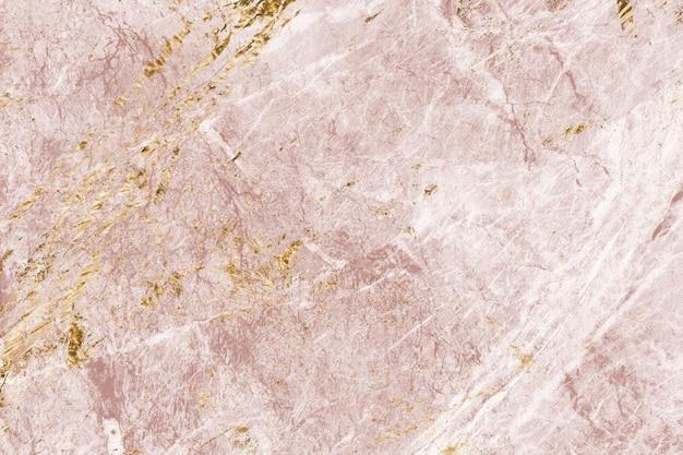ピンクとゴールドの大理石の質感 無料写真