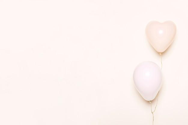 Pink balloons Free Photo