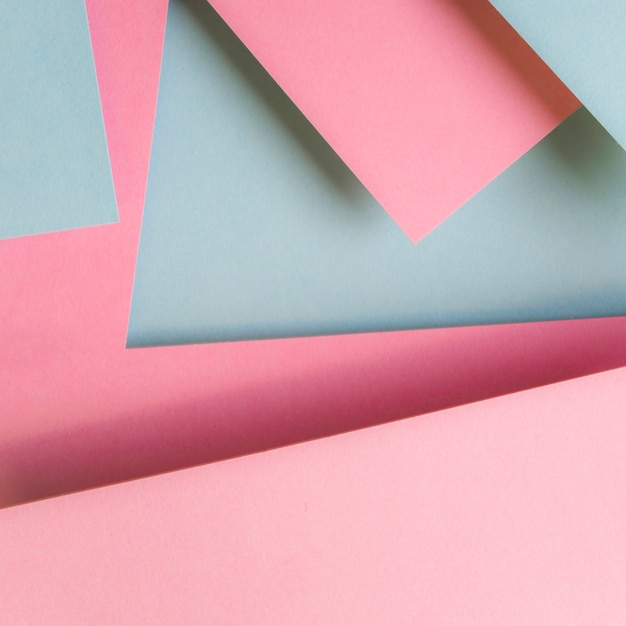 Pink and gray paper design abstract background Free Photo