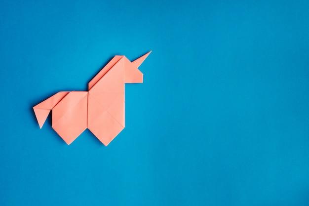 Origami unicorn origami animal unicorn toy origami pegasus | Etsy | 417x626