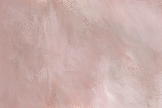 Pink paint on a canvas Free Photo