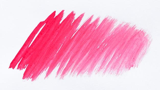 Розовая краска на белом фоне Бесплатные Фотографии