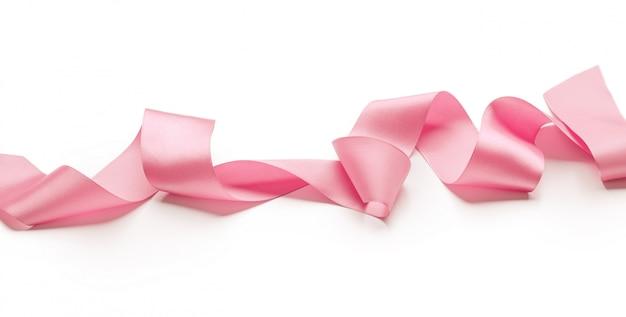 Pink ribbon Premium Photo