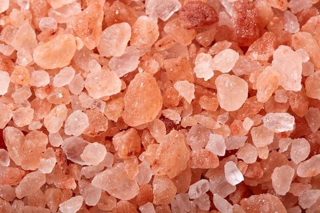 Pink salt from the himalayas mountains Premium Photo