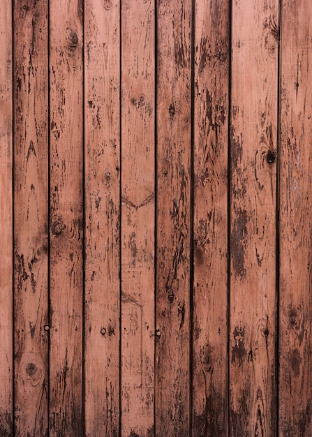 Pink shades paint on wooden texture Free Photo