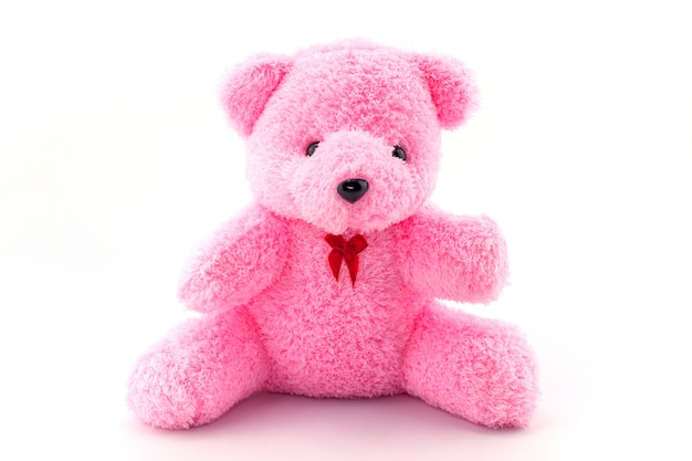 Pink doll on a white background stock image image of beautiful.