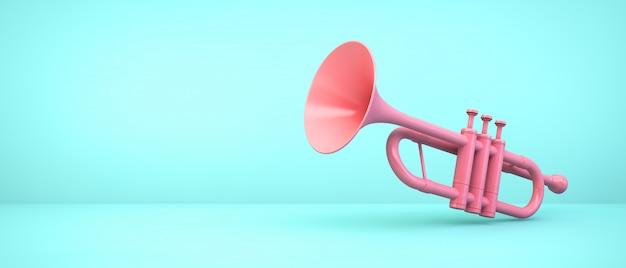 Sunlite Bugle Horn Pink