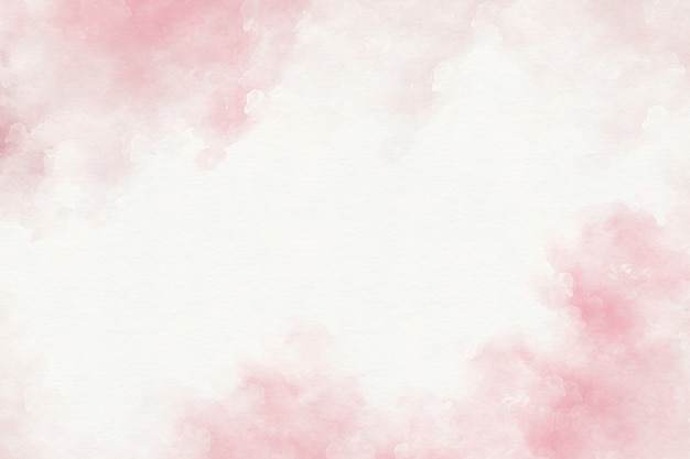 Pink watercolor abstract background Premium Photo