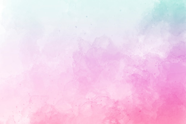 Pink watercolor background. digital drawing. Premium Photo