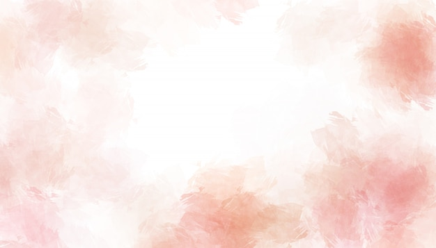 Pink watercolor painted paper texture background. Premium Photo