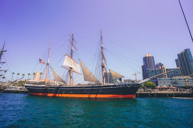 Pirate ship named