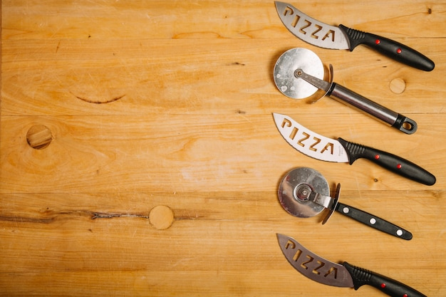 Резаки и ножи для пиццы Бесплатные Фотографии