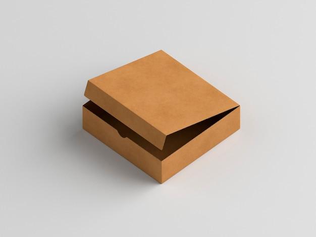 ピザオープンボックスハイビュー 無料写真