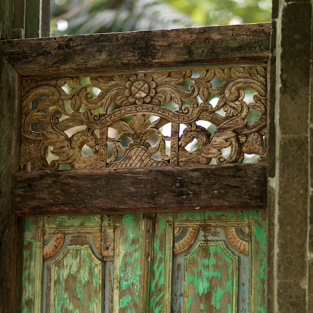 Placencia, decorative gate Premium Photo