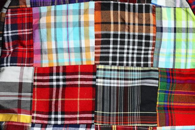 Plaid check pattern Premium Photo