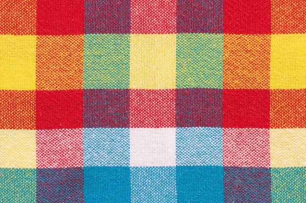 Plaid fabric. brazilian. festa junina background Premium Photo