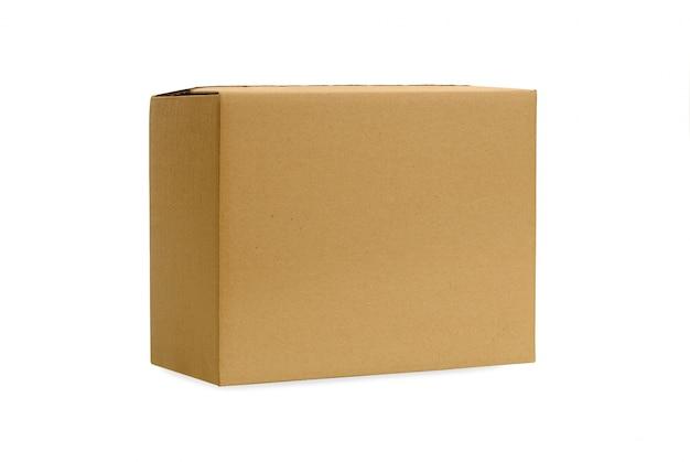 Plain cardboard box Free Photo