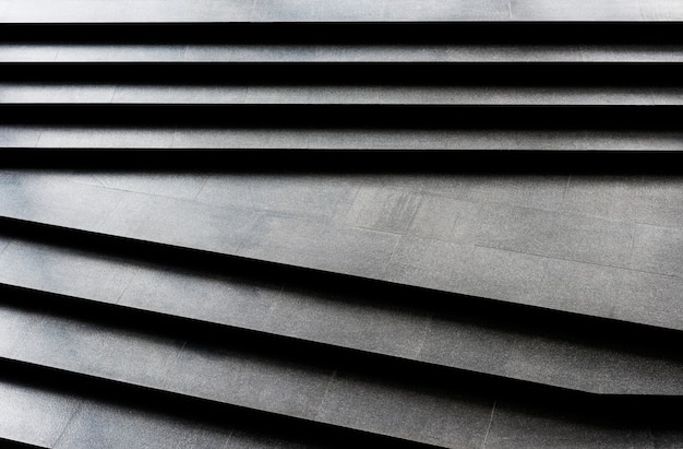 Plain dark granite stairs pattern Free Photo