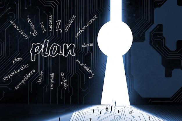 Plan for business development Free Photo