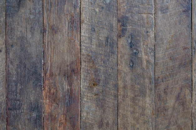 Plank Wood Wall For text and background Premium Photo