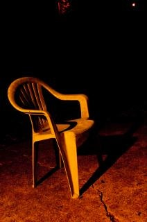 Plastic chair, furniture Free Photo