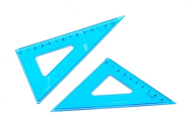 Plastic transparent ruler Premium Photo