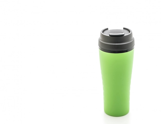 Plastic and tumbler cup Premium Photo