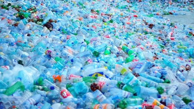 Plastic waste Premium Photo