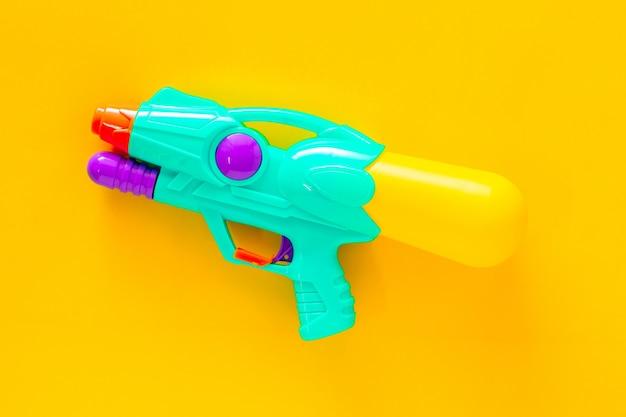 Plastic water gun Premium Photo