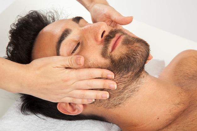 Pleasure face during massage 23 2147638155