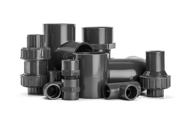 Plumber tube for water isolated Premium Photo