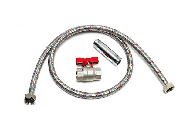 Plumbing devices isolated Premium Photo