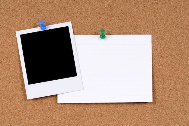 Polaroid photo and note Free Photo