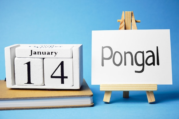 Pongal harvest festival in india of month january. Premium Photo