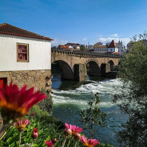 ポンテデバルセロス(バルセロス中世橋) 無料写真