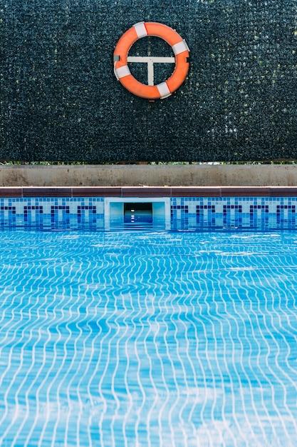 Pool lifeguard Premium Photo