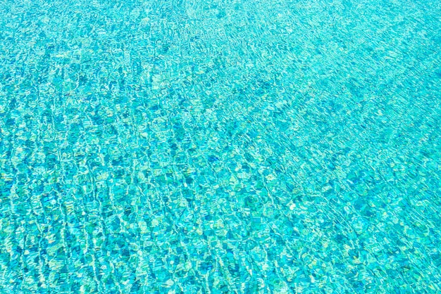 Pool water texture background Free Photo