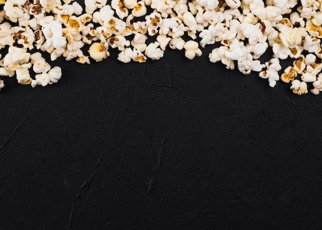 Popcorn background for cinema concept Free Photo