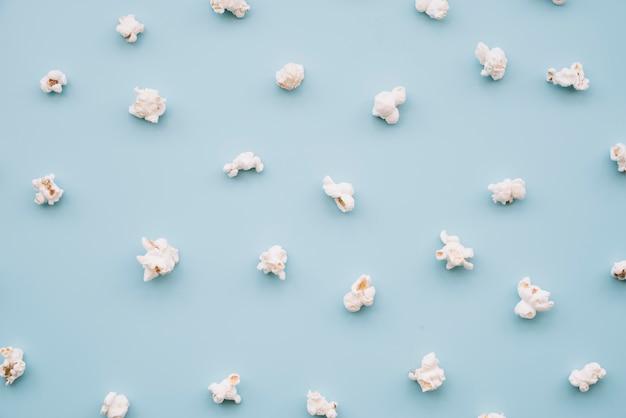 Popcorn background Free Photo