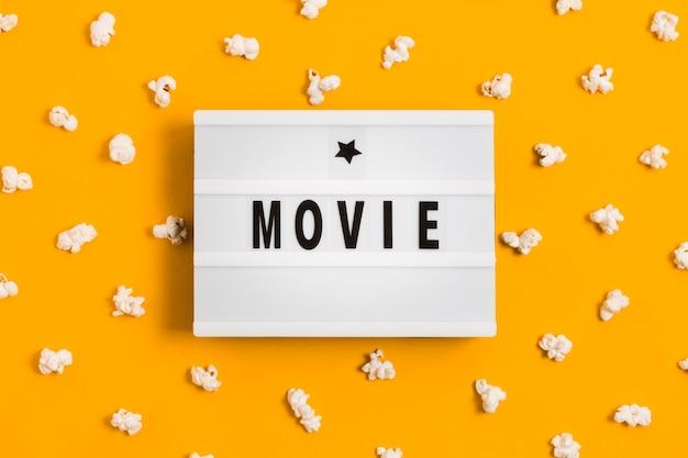 Popcorn per il tempo del film Foto Gratuite
